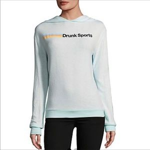 "Wildfox Couture ""Drunk Sports"" Gypsy Hoodie"